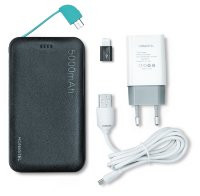 Power Bank HONESTEL 5000mAh CD04 black